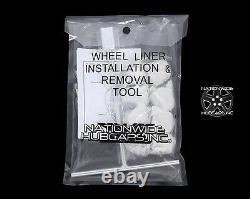 05-18 FORD F450 F550 Truck 19.5 10 Lug Dual Wheel Simulators Rim Covers Liners
