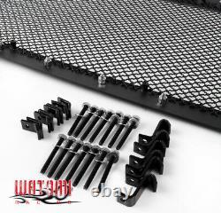 09-12 Ford F-150 F150 Truck Front Upper Rivet Stainless Steel Mesh Grille Black