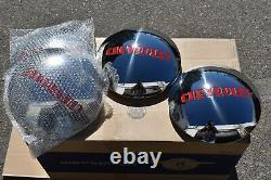 1947 48 49 50 51 53 CHEVY TRUCK 4 Stainless Hub Caps for 1/2 ton w stock wheels