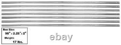 1954-59 Chevy Pickup Bed Strip Kit Stainless Steel For Short Bed 7 Pieces New
