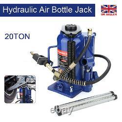 20 Ton Hydraulic Air Bottle Jack Pneumatic Lifting Ram Car Van Truck Lorry Lifts