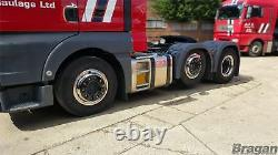 22.5 Universal Stainless Steel Front Inner Wheel Trims Cover Truck Lorry