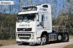 22.5 Universal Stainless Steel Rear Wheel Sleeves 285mm Deep Trim Cover Truck