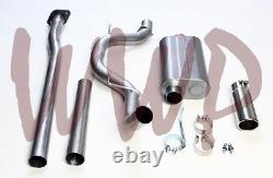 3 Cat Back Exhaust System & 4 Stainless Steel Tip 09-14 Ford F150 Pickup Truck