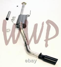 3 Cat Back Exhaust System Black Tip 15-19 Ford F150 Ecoboost 2.7L 3.5L 5.0L V8