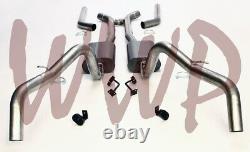 3 Header Back Exhaust System With Mufflers 67-69 Chevy Camaro/Pontiac Firebird