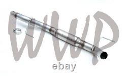 3 Turndown Cat Back Exhaust Muffler Kit 09-14 Ford F150 4.6L/5.0L/5.4L V8 Axle