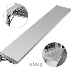 4,6,8 Foot Shelf for Concession Window Food Folding Truck Accessories Business
