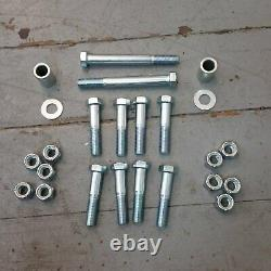 67-72 Chevy Truck C10 C15 SWB LS 4 Link Triangulated Rear Suspension Kit chrome