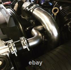 6.0 Powerstroke Ford Stainless Metal Radiator Hose -Tube Diesels Unlimited