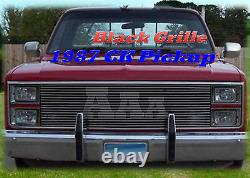 81-88 86 84 87 Chevy C10 GMC Pickup Truck Black Stainless Steel Grille 82 83 85