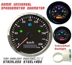 85mm GPS speedometer 200km/h Odometer For Car Truck SUV ATV Motorcycle Boat