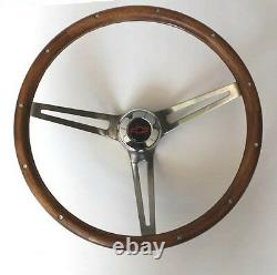 Blazer C10 C20 C30 Truck Grant Wood Steering Wheel SS Spokes Red/Black cap 15