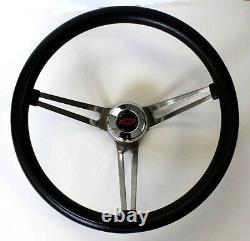 Chevrolet Pick Up Truck Blazer Grant Black Steering Wheel 15 red/black cap