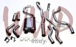 Dual Stainless Cat Back Exhaust System 99-06 Chevy/GMC Silverado/Sierra 1500 E/C