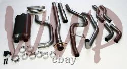 Dual Stainless Cat Back Exhaust System Kit 11-14 Ford F150 3.5L Eco Boost Pickup
