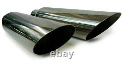 Dual exhaust pipes and tips Fits Dodge Ram Truck 1500 / 2500 1994 2001