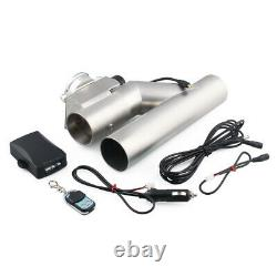 Durable Exhaust Control E-Cut Out 3inch Valve Electric Y Pipe with Remote Kit