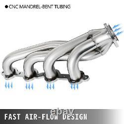 Fine LS Swap Exhaust Headers For Chevy LS1 LS2 LS3 LS6 LS9 S10 SUV Truck Each