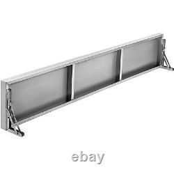 Folding Shelf Commercial Grade Concession Stands and Food Trucks 6FT Load 66lbs