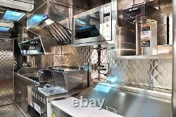 Food Truck & Restaurant Chrome Quilted Stainless Steel Wall Panel, 24Ga 48x96