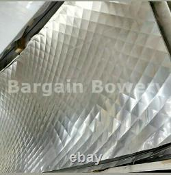 Food Truck & Restaurant Diamond Quilted Stainless Steel 24 Ga 48 X 120, 4 Quilt