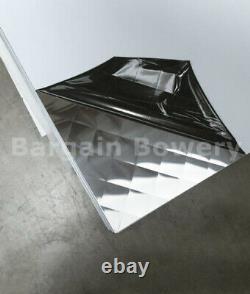 Food Truck & Restaurant Diamond Quilted Stainless Steel 24 Ga 48 X 96 4 Qulit