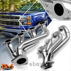 For 02-16 Chevy Silverado Truck Stainless Steel Exhaust Header Manifold+Gasket