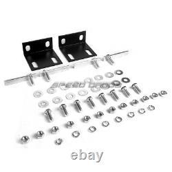 For 88-00 Chevy C/k C10/suburban Truck Chrome Bull Bar Push Bumper Grille Guard