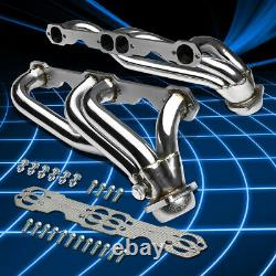 For 88-97 Chevy/GMC C/K 5.0/5.7 V8 Truck Stainless Steel Header Manifold Exhaust