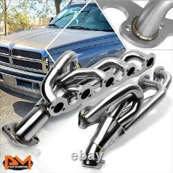 For 96-02 Dodge Ram Truck 8.0L V10 OHV Stainless Steel Exhaust Header Manifold