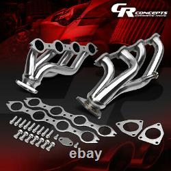 For 99-05 Chevy/gmc Gmt800 Truck/suv V8 Stainless Exhaust Manifold Header+gasket