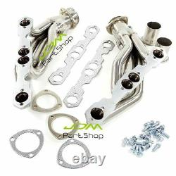 For Chevy GMC Truck C1500 C2500 C3500 V8 5.0 5.7L Exhaust Header Stainless Steel