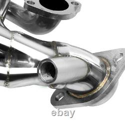 Ford F-150/f-250 Truck 5.4/v8 Stainless Steel Exhaust Chrome Header+bolts+gasket