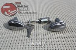 Ford Lincoln Mercury Igntion Door Locks Flip Cover Bezels T Bird Pickup Truck