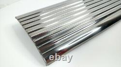 Glove Box Door Polished Stainless Ribs For 1947-53 Chevrolet Pickup Truck