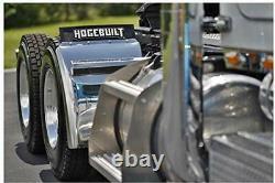 Hogebuilt 30 430 stainless steel quarter fender kit pair truck universal new