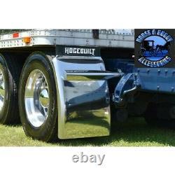 Hogebuilt m1 34 430 stainless steel quarter fender kit pair universal truck new