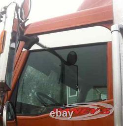 International 9200 9400 9900 5 Chop Top Stainless Upper Window Trim Semi Truck
