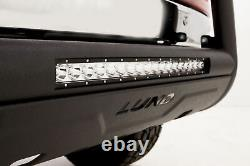 Lund 47121214 3.5 Black Bull Bar With Light Fits Chevy Truck / SUV