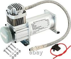 Onboard Universal Air Compressor 150PSI. 4 Car/Truck Train Horn/Suspension Kit