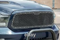 Rough Country Custom Mesh Grille (fits) 2013-2018 Ram Truck 1500 Stainless