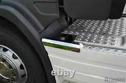Side Skirt Top Trims For Scania P G R 6 Series 2009+ 6x2 Stainless Steel Truck