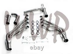 Stainless 1-7/8 Long Exhaust Header 99-06 Chevy/GMC Truck/SUV 4.8L/5.3L/6.0L V8