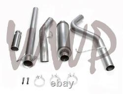 Stainless Steel Cat Back Exhaust System 11-19 Chevy/GMC 2500/3500 6.0L Gas Truck