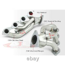 Stainless Steel Exhaust Shorty Headers For 2000-2004 Chevy Suburban Tahoe Yukon