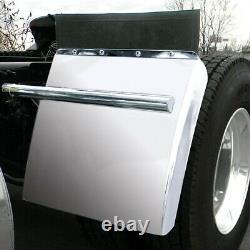 Stainless steel quarter fenders post mount 24 hardware universal truck tfen-q17