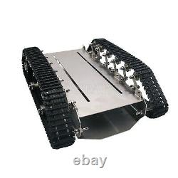 T600 Metal Truck Stainless Steel Body Tank Intelligent Robot Plastic Pedrail X