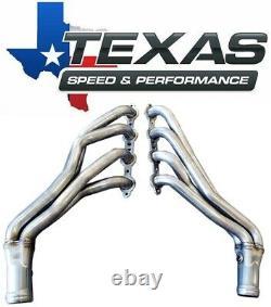 Texas Speed 07-13 GM Truck 1-7/8 Stainless Steel Long Tube Headers & O/R Y-Pipe