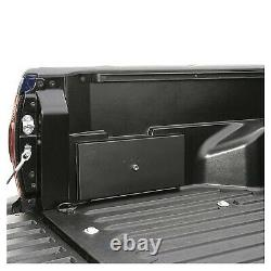 Tuffy 161-01 Truck Bed No-Drill Security Side Steel Lockbox for Toyota Tacoma